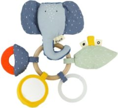 Trixie Baby Accessoires Activity Ring - Mrs. Elephant Grijs