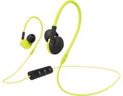 Hama Active BT Bluetooth Sport Oordopjes In Ear Headset, Volumeregeling, Bestand tegen zweet Geel