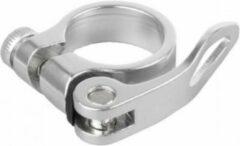 Bls Zadelpenklem Met Snelspanner 34,9 Mm Aluminium Zilver