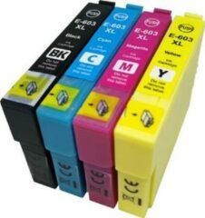 Cyane MediaHolland 603XL Huismerk Cartridges geschikt voor Epson 603XL Multipack 4 stuks