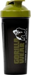 Groene Gorilla Wear Shaker XXL - Black/Army Green