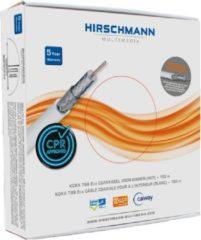 Hirschmann 799-ECA-100W Coaxkabel Op Haspel Koka 799 6.9 Mm 100 M Wit