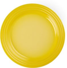 Gele LE CREUSET - Aardewerk - Ontbijtbord 22cm Soleil