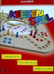 Keezenspel Keezbord scoreblok