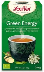 Yogi Tea Yogi Thee groen Energy Voordeelverpakking