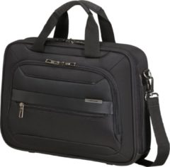 Zwarte Samsonite Laptopschoudertas - Vectura Evo Laptop Bailhandle 14.1 inch Black
