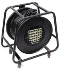 Omnitronic XLR Multicore kabelhaspel 30.00 m Aantal ingangen:24 x Aantal uitgangen:4 x