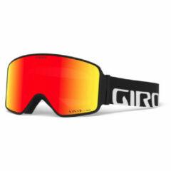 Giro - Method Vivid S2 (VLT 37%) / Vivid S1 (VLT 62%) - Skibril rood/oranje/zwart/grijs