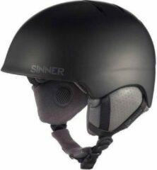 Sinner Lost Trail - Skihelm - Unisex - XL / 61-62 cm - Zwart