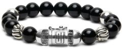 Buddha to Buddha 188ON armband Spirit Bead Onyx (E) 19 cm