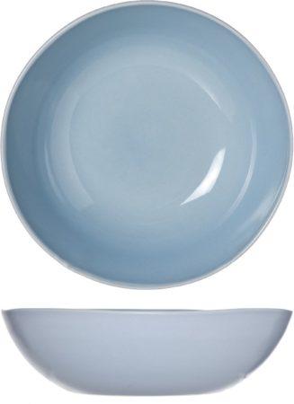 Afbeelding van Blauwe Cosy&Trendy Cosy & Trendy Sublim Diep Bord - Ø 18 X 5 Cm - Blue - Set-4
