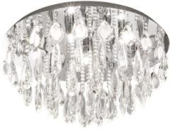 EGLO CALAONDA plafondverlichting Chroom, Transparant G9 D