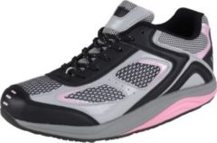 HSM Schuhmarketing WELLNESS KOMFORT Damen Gesundheits Schuh, Schwarz/Multi/41 /schwarz/multi