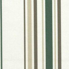 Acrisol Minerva Verde Claro 1206 gestreept, wit, grijs, taupe stof per meter buitenstoffen, tuinkussens, palletkussens