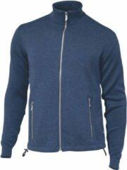 Ivanhoe of Sweden - Assar Full Zip - Wollen vest maat L, blauw
