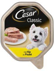 Cesar Classic - Kip pate - Alu Kuipje - Hondenvoer - 14 x 150 gr