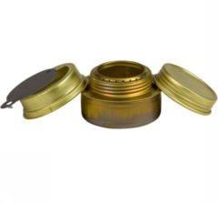 Gouden Trangia - Spiritusbrenner - Spirituskookstel maat 110 g, gold