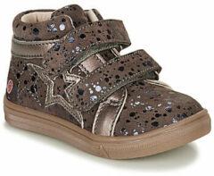 Bruine Hoge Sneakers GBB OHANE