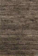 Impression Rugs Design Collection Loft Effen Bruin vloerkleed 240 x 340 cm - Laagpolig