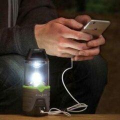 Zwarte Nite Ize Radiant 300 Rechargeable LED LAMP Lantern R300RL-17-R8 Camping