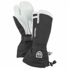 Hestra - Army Leather Heli Ski 3 Finger - Handschoenen maat 11 zwart/wit/grijs