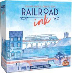 White Goblin Games Railroad Ink - Diepblauwe versie (NL)
