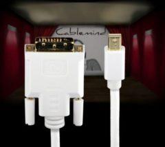Cablemind Mini DisplayPort/DVI 1080p Adapterkabel, verschiedene Längen Länge: 1 m