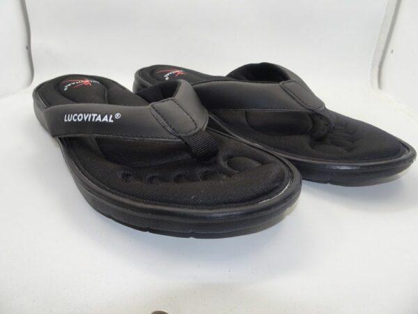 Afbeelding van Lucovitaal Orthopedische slippers 43-44 zwart 1 Paar