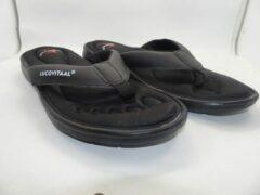 Lucovitaal Orthopedische slippers 43-44 zwart 1 Paar