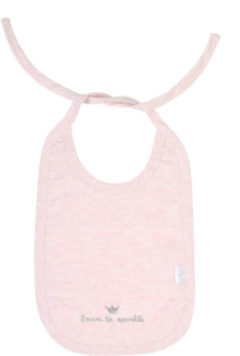 "Roze BamBam Bib ""born to sparkle"""