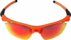Oranje PowerPlay Eyewear PowerPlay MS-049 Orange-Black Red Revo