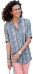 Blauwe Casual Looks lange blouse