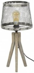Zaloni Tafellamp Til van 53 cm hoog - Verweerd koper