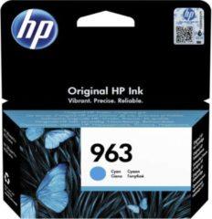 Blauwe HP 963 1 stuk(s) Origineel Normaal rendement Cyaan