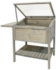 Gardissimo Holz-Hochbeet 113x58x95 cm, grau Gardissimo cool grey