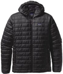 Patagonia Nano Puff Hooded Jacket zwart