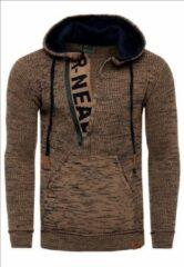 Bruine Rusty Neal Trui hoodie - 13277