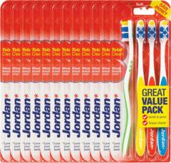 Jordan Tandenborstel Total Clean Soft 4-pack Voordeelverpakking 12x4 Bor