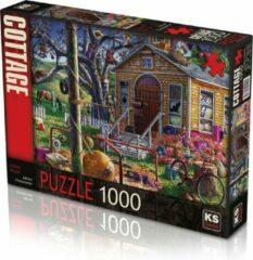 KS Games Lonely House Puzzel 1000 Stukjes