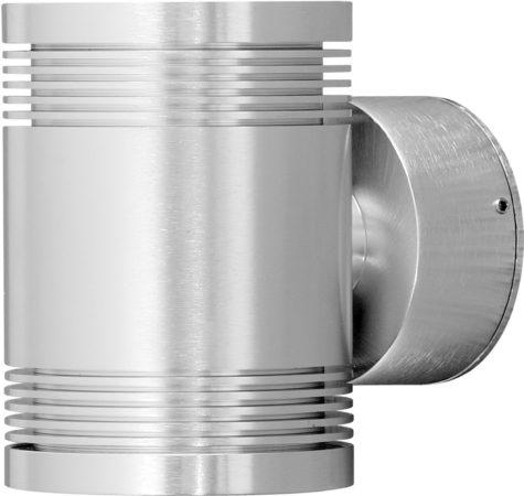 Afbeelding van Konstsmide Buitenlamp 'Monza Duo' Wandlamp 10cm, PowerLED 12 x 1W / 230V