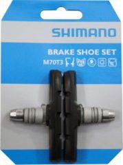 Zwarte Shimano M-System M600 paar remblokken - Remblokken voor velgremmen