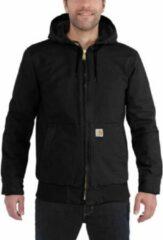 Carhartt - Duck Active Jacket - Vrijetijdsjack maat XXL, grijs/zwart/grijs/zwart/zwart/purper/blauw/beige/rood/blauw/zwar