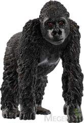 Grijze Schleich Gorilla Vrouwelijk 14771 - Aap Speelfiguur - Wild Life - 3,6 x 8,2 x 7,1 cm