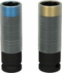 "KS Tools 2-delige Impact doppenset SlimPOWER 1/2"" staal"