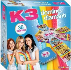 Studio 100 K3 - Spel - diamant domino