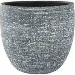 Antraciet-grijze Ter Steege Pot Karlijn antraciet bloempot binnen 32 cm