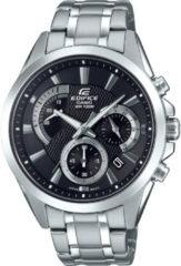 Zilveren Edifice horloge EFV-580D-1AVUEF zwart