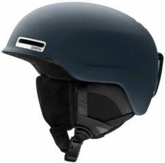 Marineblauwe Smith Maze-Ad Helmet blauw