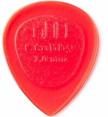 Dunlop Stubby Jazz 1.00mm rood plectrum