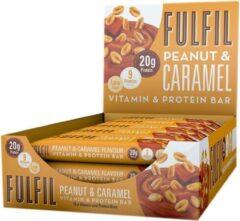 Fulfil Nutrition Vitamine & Proteïne Repen - Pinda & Caramel - 15 eiwitrepen